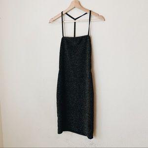 Bozzolo Black starlight dress